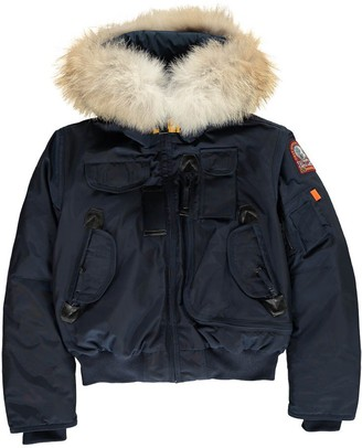 PARAJUMPERS Faux Fur Hooded Gobi Boy Bomber Jacket $619.20 thestylecure.com