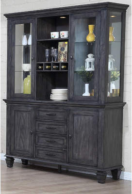 Red Barrel Studio Middlebury Lighted China Cabinet