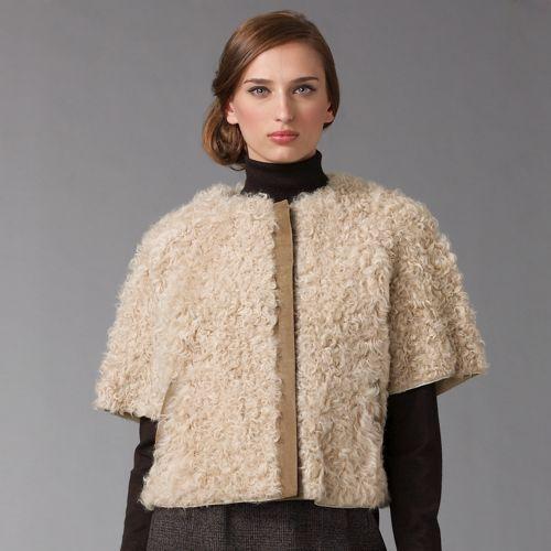 Dolce & Gabbana Curly Lamb Jacket
