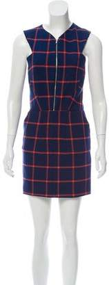 Thakoon Plaid Mini Dress
