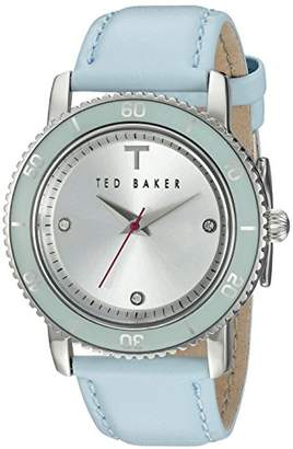 Ted Baker Women's TE2112 Smart Casual Three-Hand Leather Watch