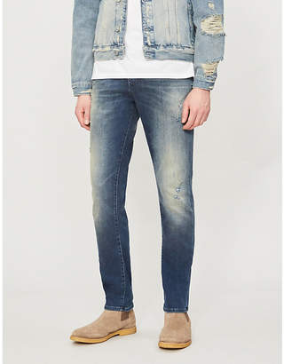 True Religion Roccco faded skinny jeans