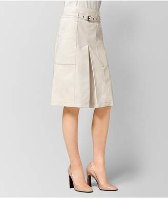 Bottega Veneta Mist Lamb Skirt