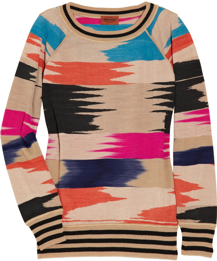 Missoni Soia wool-blend sweater
