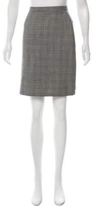 Ralph Lauren Purple Label Wool Knee-Length Skirt