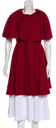 Dolce & Gabbana Knee-Length Wool Coat