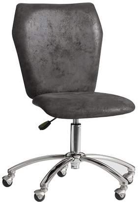 Pottery Barn Teen Trailblazer Airgo Armless Chair, Charcoal Trailbazer