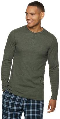 0db80a76 Hanes Big & Tall Ultimate X-Temp Waffle-Weave Henley