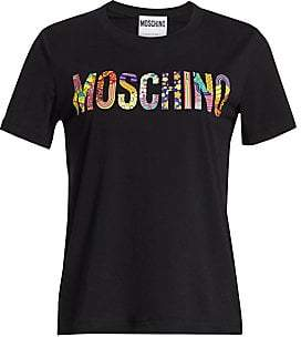 Moschino Women's Mixed Logo Tee