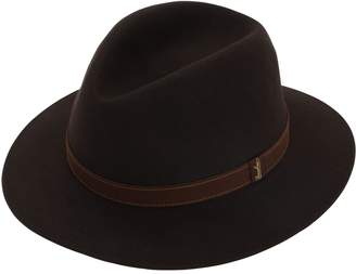 76098b88d4c4da Borsalino Country Felt Hat W/leather Belt