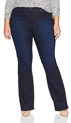 James Jeans Women's Plus Size Classic Boot Cut Jean