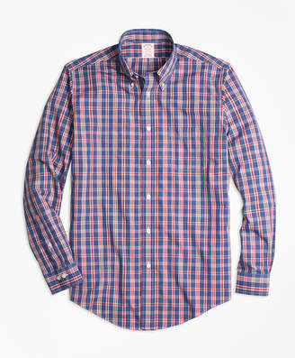 Brooks Brothers Non-Iron Madison Fit Check Sport Shirt