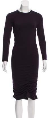 Michael Kors Ruched Knit Dress
