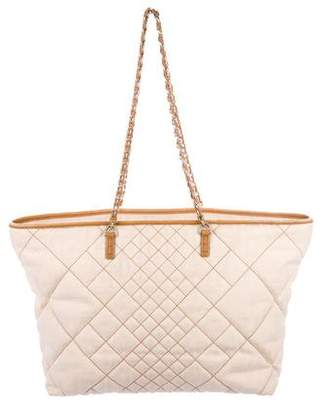 Fendi Quilted Zucca Chain-Link Tote