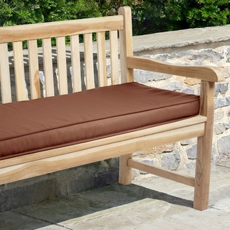 "Mozaic Sunbrella 60"" x 19"" Canvas Outdoor Bench Cushion"