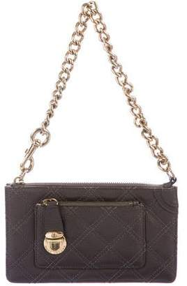 Marc Jacobs Quilted Leather Pochette