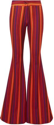 Of the Moment C'est La V Woodstock Striped Flare Pants