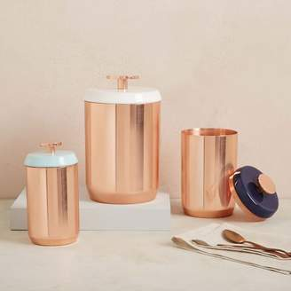 west elm Copper Kitchen Canisters