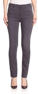 7 For All Mankind Jen7 by Skinny Grey Jeans