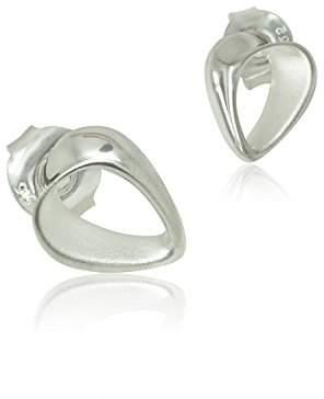 Goldmajor Women 925 Sterling Silver Stud Earrings JWER602