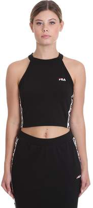 Fila Melody Top Sport In Black Tech/synthetic