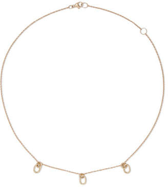 Pamela Love Beamont 10-karat Gold Diamond Necklace