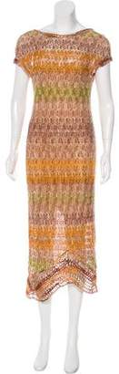 Missoni Short Sleeve Midi Dress