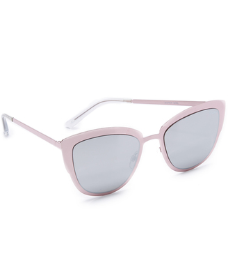 Quay Supergirl Sunglasses $60 thestylecure.com