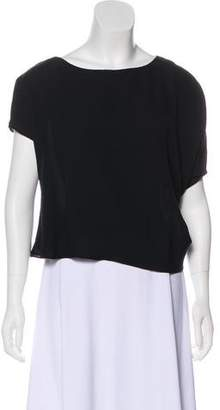 Giorgio Armani Silk Asymmetrical Blouse