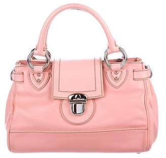 Marc Jacobs Push-Lock Leather Bag