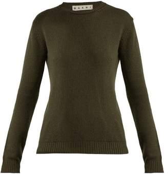 Marni Cashmere Sweater - Womens - Dark Green