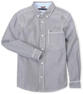 Tommy Hilfiger Boys 8-20) Stripe Button-Down Shirt