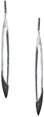 Lana Women's Reckless 14K White Gold & Daimond Dagger Drop Earrings