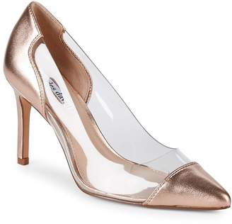 Charles David Women's Clear Metallic Leather Pumps