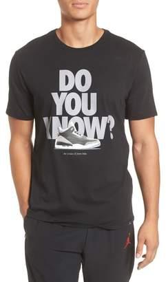Nike JORDAN Do You Know Graphic T-Shirt