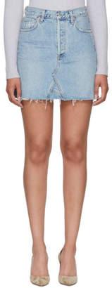 Citizens of Humanity Blue Astrid Miniskirt