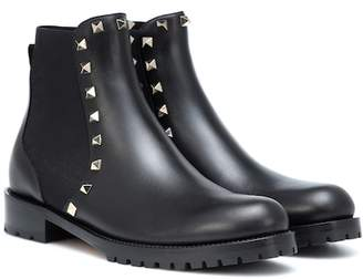 Valentino Rockstud leather Chelsea boots