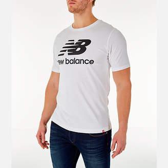 New Balance Men's Essentials Stacked Logo T-Shirt