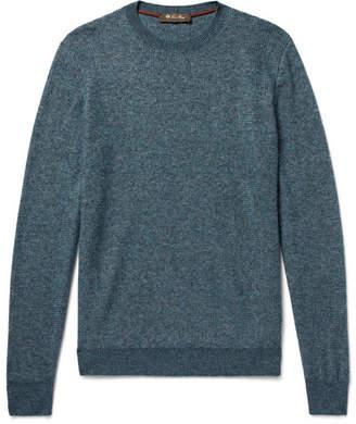 Loro Piana Cashmere And Silk-Blend Sweater