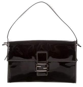 Fendi Patent Leather Handle Bag