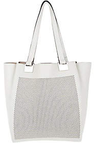 Vince Camuto Perforate Small Tote Handbag -Beatt