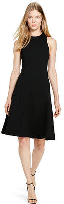 Polo Ralph Lauren Ponte Fit-and-Flare Dress $198 thestylecure.com
