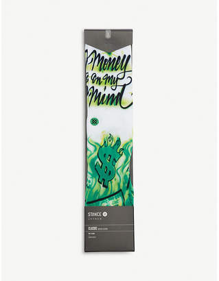Stance Airbrush Money cotton-blend socks