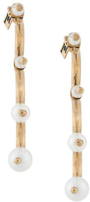 Rosantica semi-circle earrings