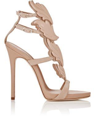 Giuseppe Zanotti Women's Cruel Sandals-NUDE $1,595 thestylecure.com
