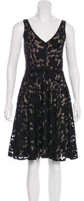 6dbcdf86768 Pre-Owned at TheRealReal · Zac Posen Z Spoke by Lace V-Neck Dress