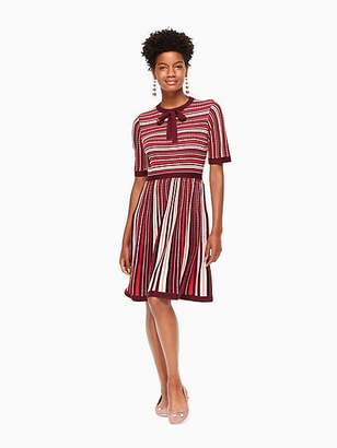 Kate Spade Multi stripe sweater dress