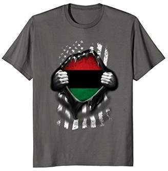 Pan African UNIA Flag Shirt