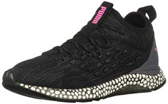 Puma Women's Hybrid Runner FUSEFIT Sneaker Black-Orchid-Knockout Pink