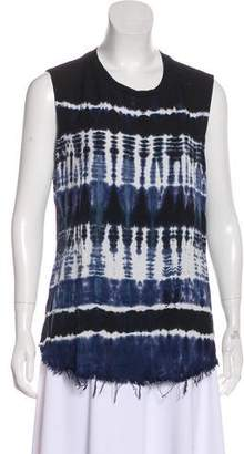 Raquel Allegra Tie-Dye Sleeveless Top
